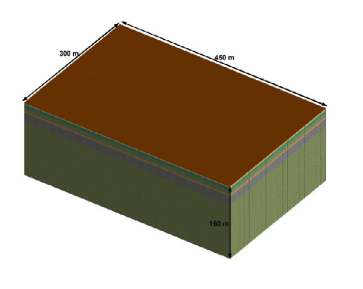 Demolition Engineering  Services- Soil model created in ELS - Applied Science International