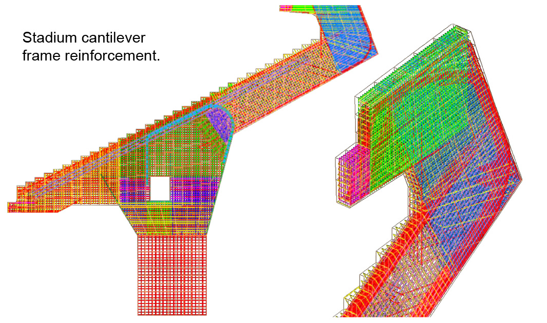 Structural Analysis - Stadium-cantilever - Applied Science International