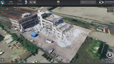 3D Geo-Referenced Point Cloud