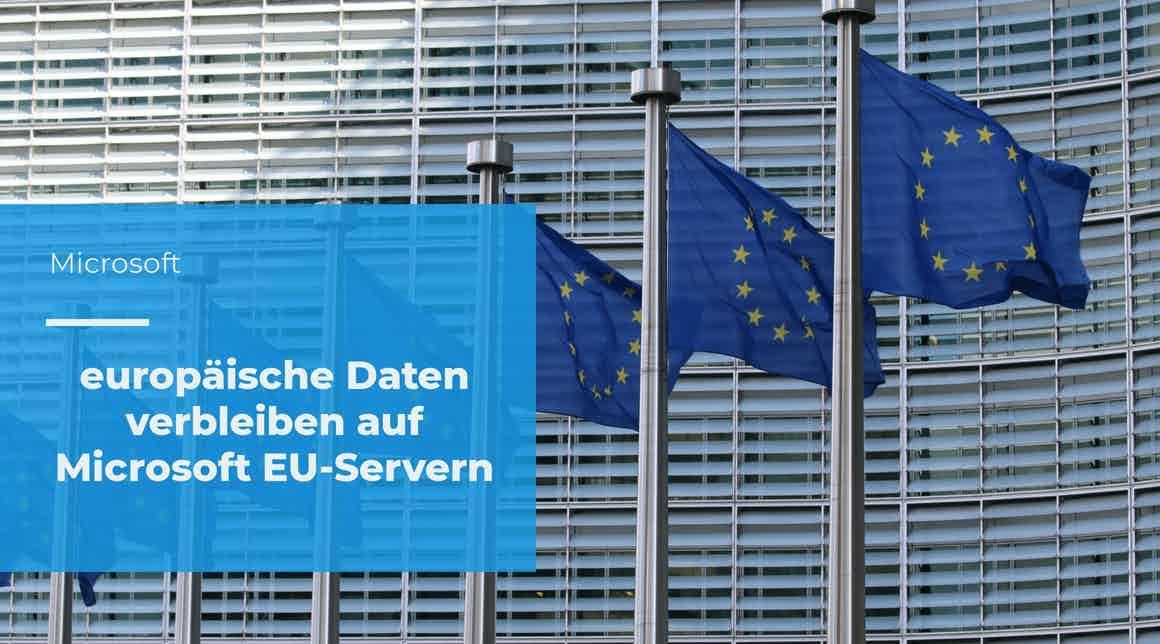 apptech - EU-Daten verbleiben auf Microsoft EU-Servern