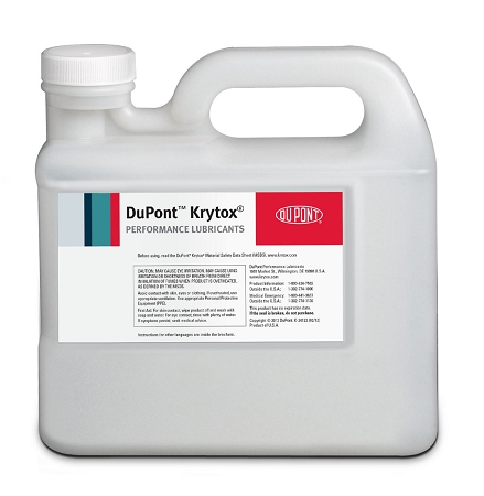 Dupont krytoxoil gpl 101 oil-11lb-5kg-handle jug