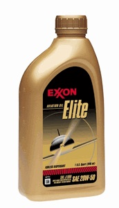 Exxon Aviation Oil Elite 20W-50