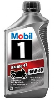 MOBIL 1 RACING SYNTHETIC MOTOR OIL