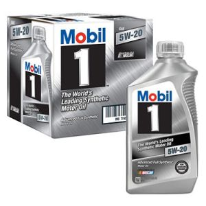 Mobil 1 5W-20 synthetic Motor Oil