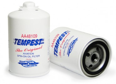 Tempest AA48109 S-O Oil Filter