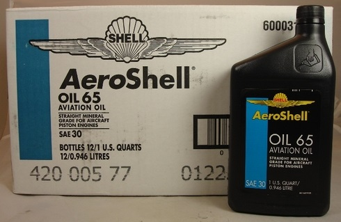 Aeroshell 65 Oil-1 Quart