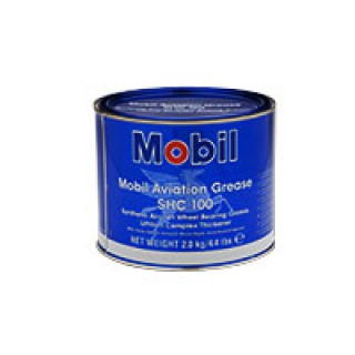 Mobil Aviation Grease SHC 100-4.4Lb