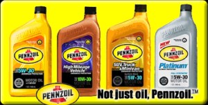 Pennzoil Number 1 Motor Oil in USA