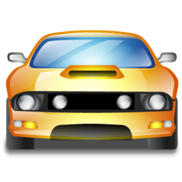 Muscle car for Automotive Industry