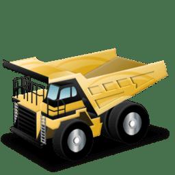 Rigid dump truck for Mining Industry