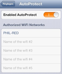 AutoProtect for iOS 6 Cydia 2
