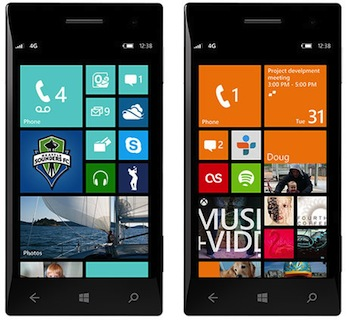 iPhone Windows Phone