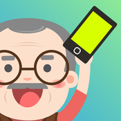 Grandpa what the fone Solution of all Levels