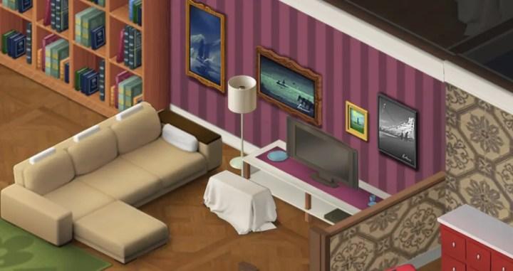 Schlaf auf dem Sofa - Wordington