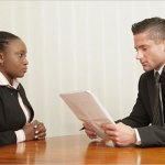 How A Lady Abandoned Her Job Interview In Nigeria