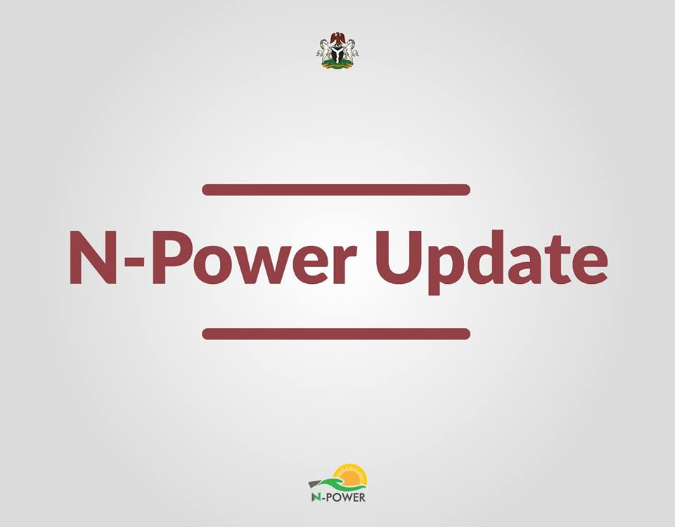 N Power News Update Today | Latest News On N-Power