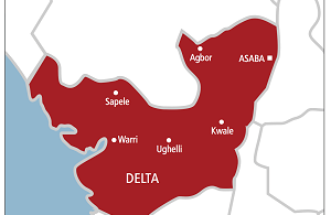 Map of Delta State 1