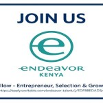 Apply for Kenya Fellow 2020 at Endeavor
