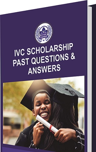 IVC Scholarship Examination Past Questions and Answers PDF