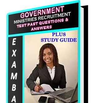 Government Ministries Aptitude Test Past Questions and Answers