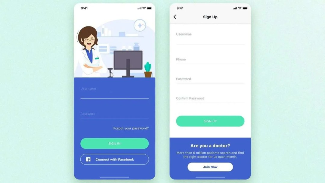 Create pharmacy mobile app