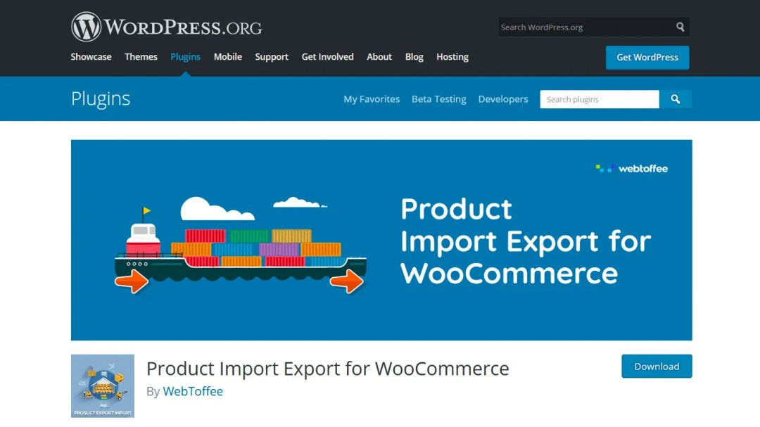 Product Import Export for WooCommerce