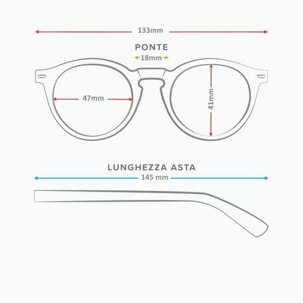 Scheda tecnica occhiale