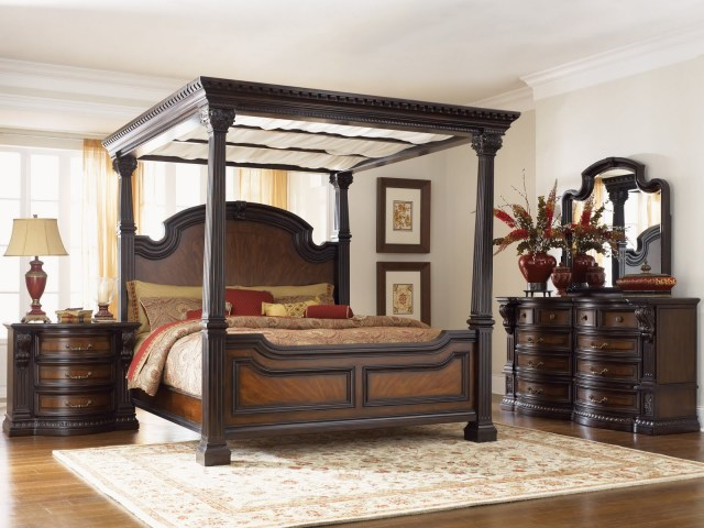 magnificent ashley furniture north shore piece canopy bedroom set bedroom atmosphere ideas