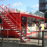 Pop Up Restaurant Made From Shipping Containerthe Latest Fire Truck Bedroom Atmosphere Ideas Container Menu Design Food Sign Card Patterns Miami Apppie Org
