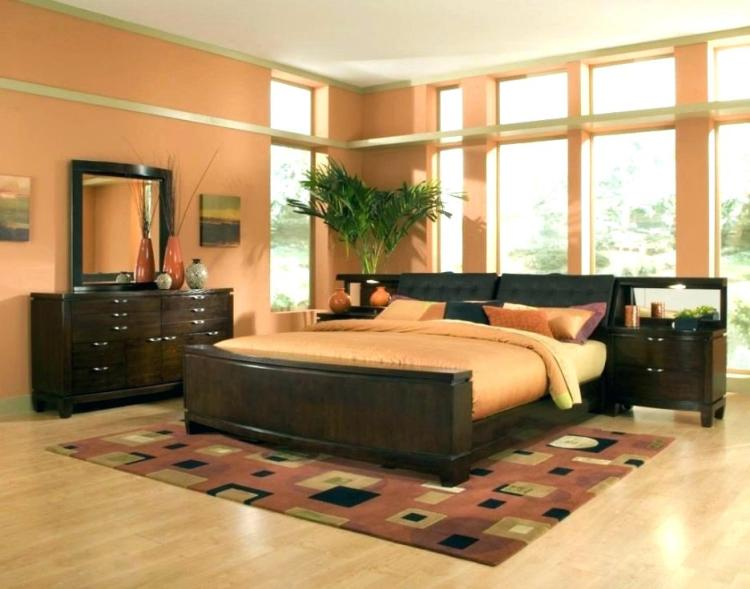 Orange And Brown Bedroom Ideas Burnt Decorating Atmosphere Walls Green Curtains Red Color Scheme Tan Grey Apppie Org