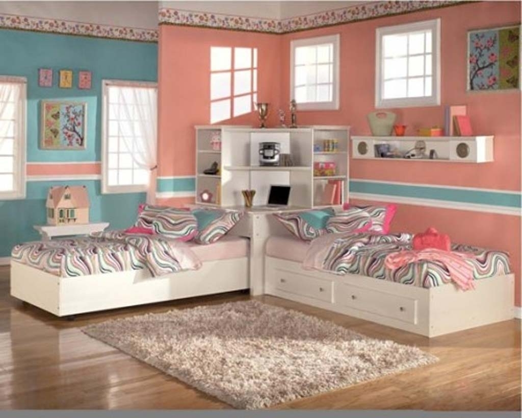 Remodell Your Home Wall Decor With Unique Fabulous Twin Bed Bedroom Ideas Atmosphere Art Wallpaper Interior Walls Cement House Shelves Apppie Org