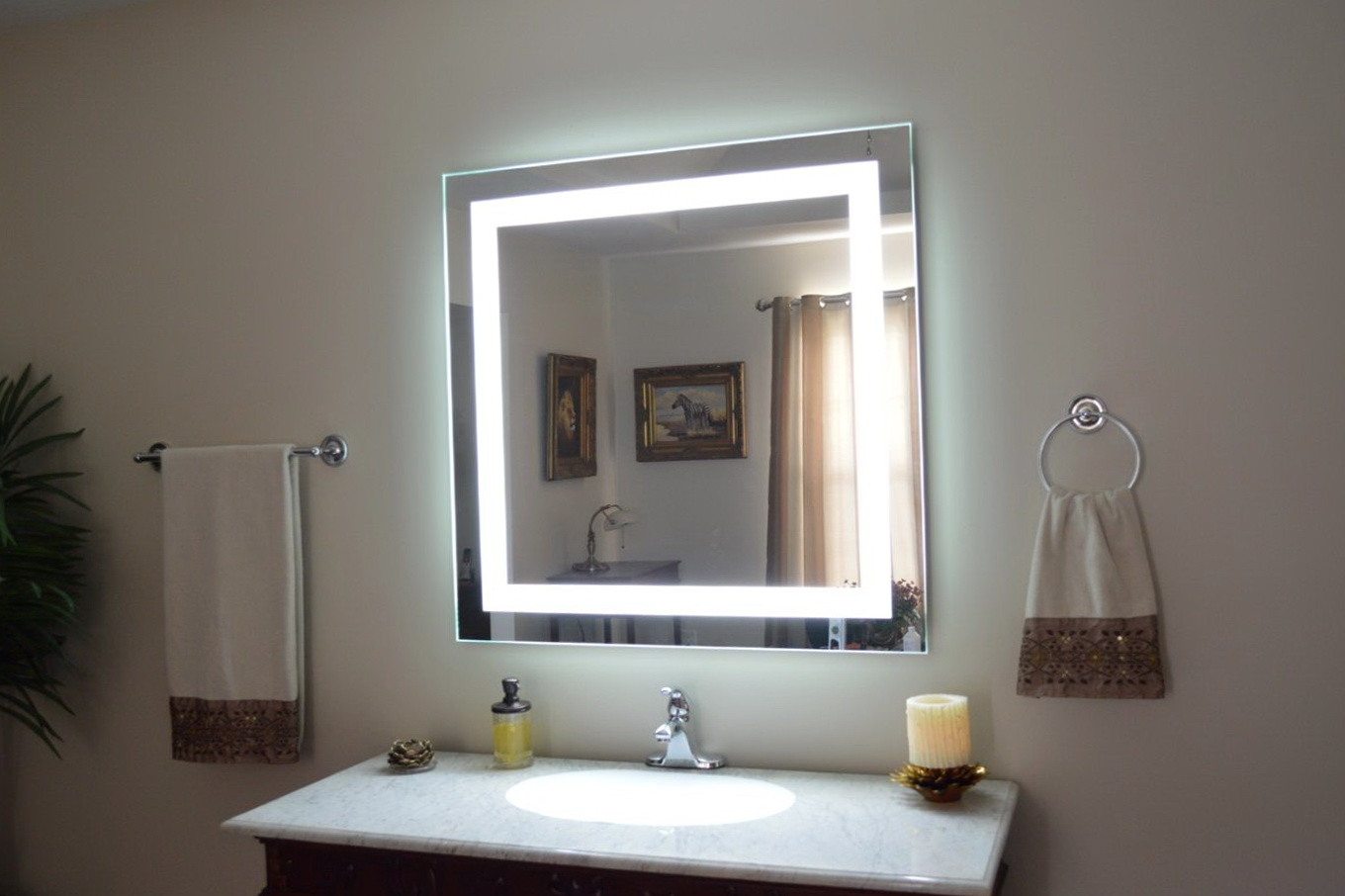 Ikea Bathroom Wall Mirror With Lights Square Vanity For Bedroom Modern Round Storage Framed Mirrors Hack Red Standard Lighted Apppie Org