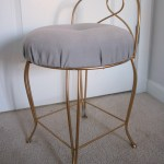 Furniture Re Do Pretty Vintage Vanity Stool Create Enjoy Bedroom Ideas Navy Blue Great Redos Redo Before And After Old Painted Mustard Yellow Dresser Black Apppie Org