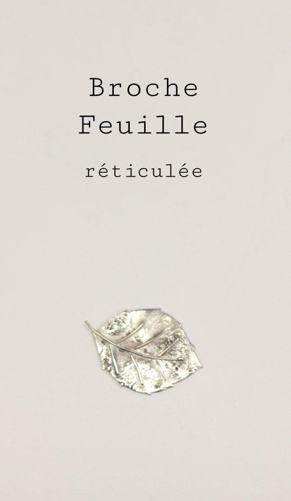Bague Feuille réticulée - les étapes de sa fabrication pas à pas sont à retrouver sur www.apprendre-la-bijouterie.com !