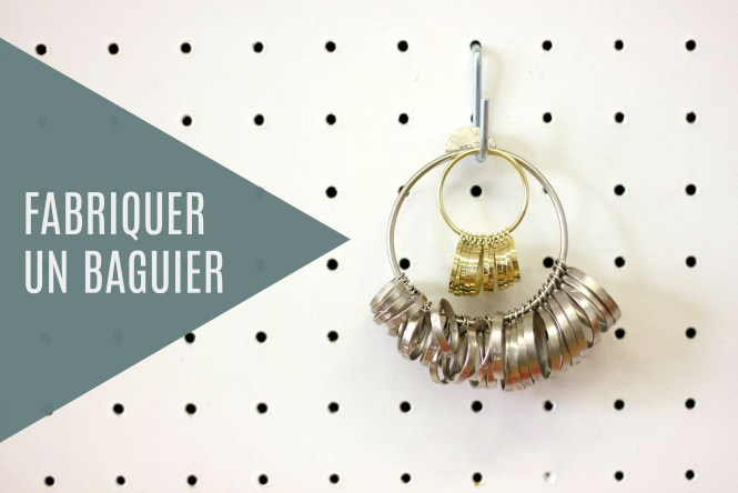 Fabriquer son propre baguier - un DIY à retrouver sur www.apprendre-la-bijouterie.com