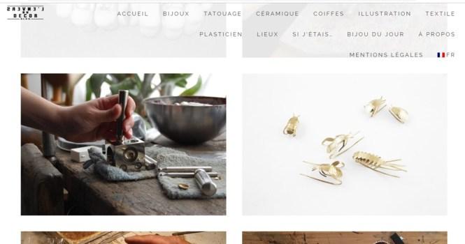 Mes favoris de l'été : le blog L'envers du Décor qui présente les coulisses de l'artisanat
