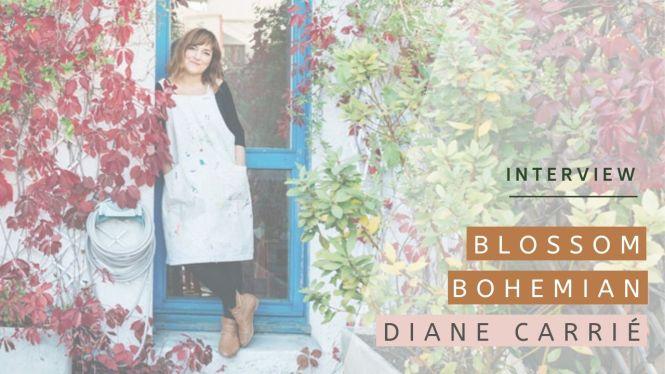 Interview de Diane, alias Blossom Bohemian, créatrice de bijoux a Paris