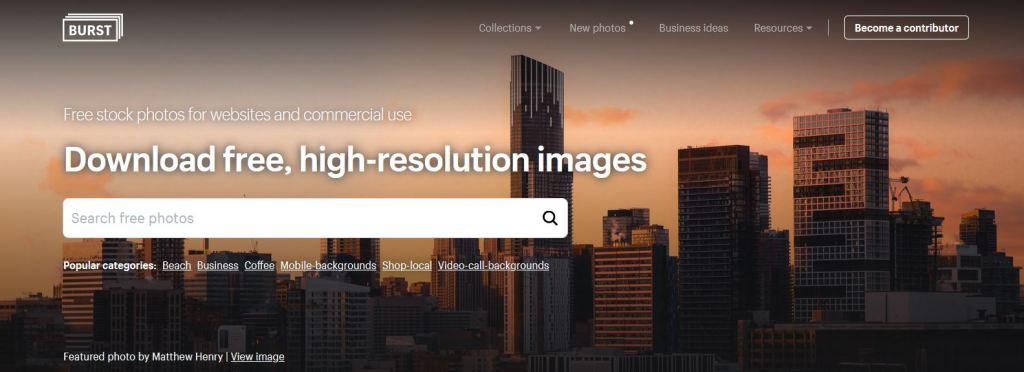 Burst, banque d images gratuites a telecharger