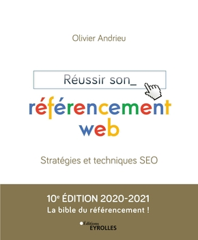 Un des meilleurs livres SEO : Reussir son referencement web