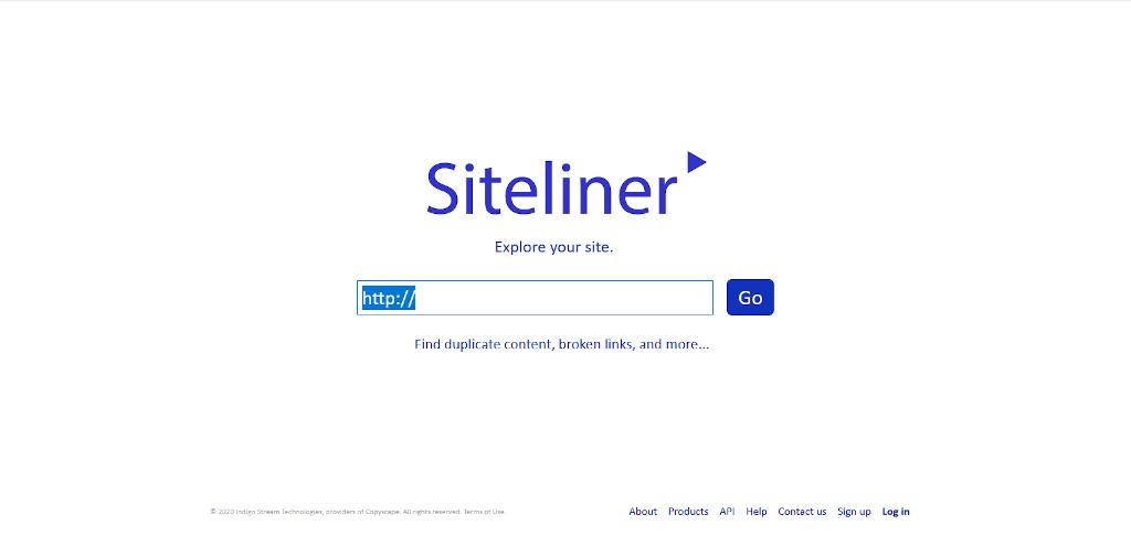 Verifier le contenu duplique interne avec Siteliner