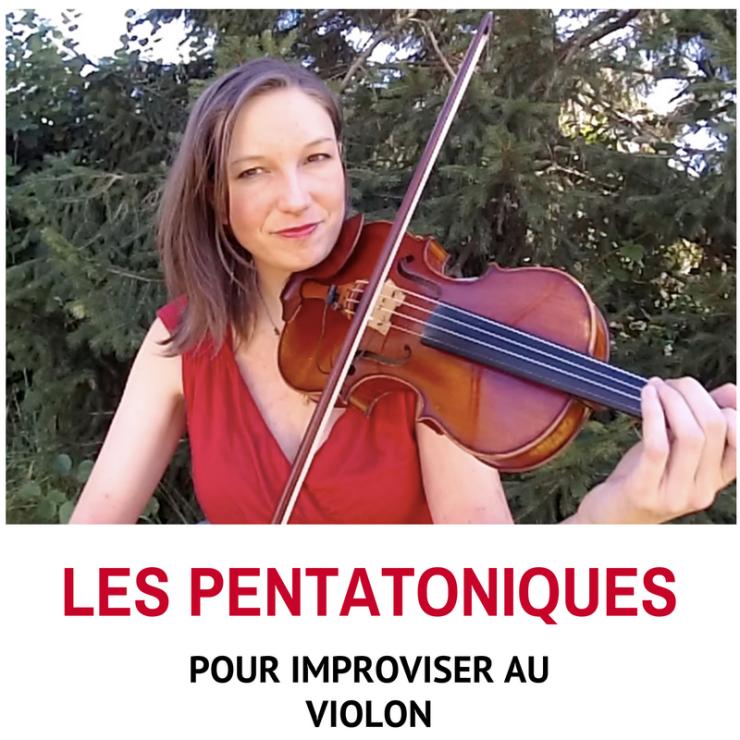 pentatoniques pour improviser au violon