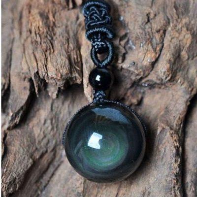 BMLTBJ2.01 Collier avec pendentif en Obsidienne Œil Céleste (1)