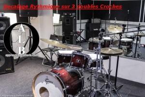 Décalage Rythmique sur 3 Doubles Croches
