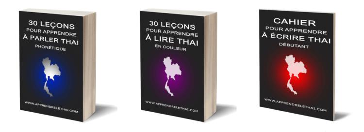 pack débutant apprendre le thaï