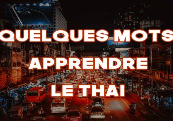 quelques mots thai