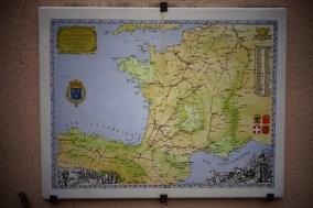Carte des Chemins de Saint-Jacques-de-Compostelle