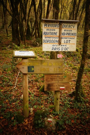 Frontière Lot-Dordogne GR6