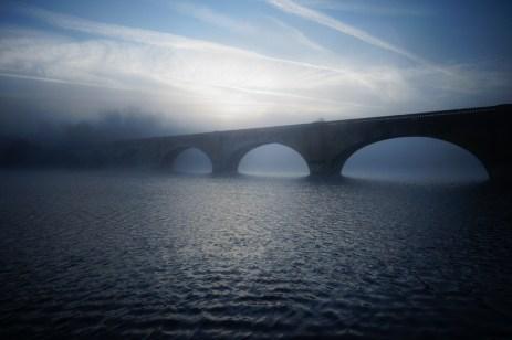 La brume sur la rive Mauzac
