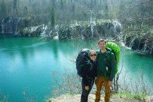 Les vagabonds à Plitvice