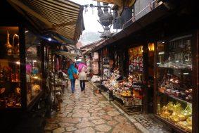 Bazar du quartier turc, Sarajevo